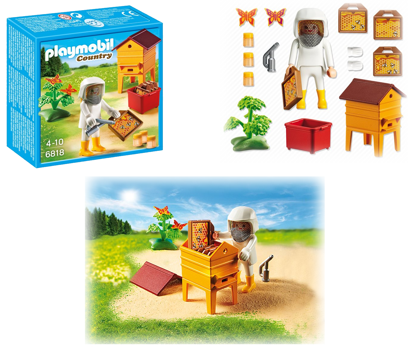 00RE69 Apicultrice PlayMobil (jouet)