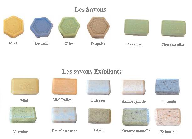 01SA15 Savon exfoliant Cannelle orange 200g rectangulaire