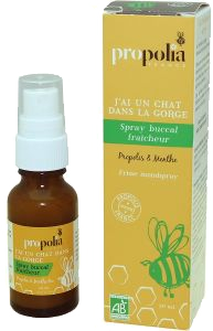 20MI59 Spray buccal BIO Propolis Menthe 20ml