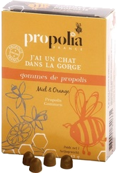 Gommes de Propolis Miel-Orange 45g