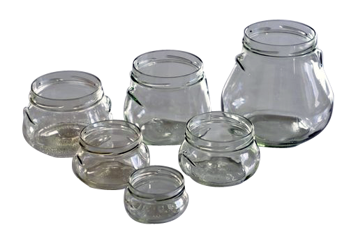 PE5625 Pot en verre terrine 1062ml Ø TO100 avec anses
